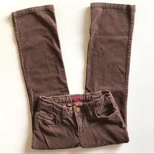 Gap Girl's Corduroy Pants in Mocha Brown